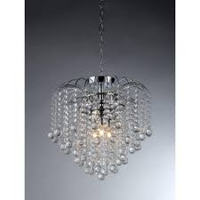 Home Depot Tiffany Style Lamps by Warehouse Of Tiffany Candace 4 Light Crystal Chrome Chandelier