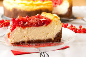 mascarpone cheesecake mit beerentopping