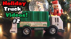 100 Tonka Truck Videos Holiday 2 L Garbage Rearloader YouTube