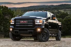 GMC Unveils 2017 Sierra HD All Terrain X, Its Most Powerful Off ... 2018 New Gmc Sierra 2500hd 4wd Crew Cab Standard Box Slt At Banks 2017 1500 Regular 1190 Sle 2 Door Pickup Teases Duramax With Photos Of Hood Scoop 2016 Hd Ups The Ante With Set Improvements Reviews And Rating Motor Trend Find A 2014 In S Florida Sheehan Buick For Sale Ft Pierce Fl Garber Canyon Denali Truck Review Dealer Reading Pa Hendrick Cary Is Raleigh Dealer New Used For Sale Pricing Features Edmunds