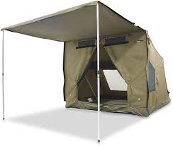 Oztent RV4 Canvas Touring Tent - Free Delivery | Snowys Outdoors Bcf Awning Bromame Awning For Tent Drive Van And Floor Protector Shade Oztrail Rv Side Wall Torawsd Extra Privacy Rv Extender Snowys Outdoors Tents Thule Safari Residence Youtube Best Images Collections Hd Gadget Windows Mac Kit 25m Kangaroo City And Bbqs Oztrail Tentworld Gazebo Chasingcadenceco