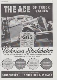 100 Antique Truck Values The Ace Of Truck Values Studebaker Stakeside Ad 1935 T