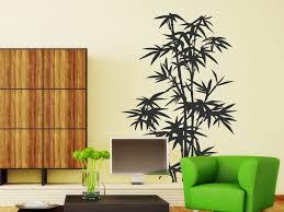dekoration wandtattoo bambus pflanze wandtattoo tropische