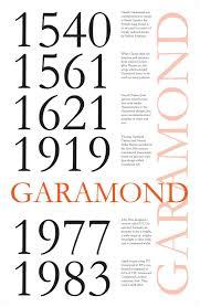 Typeface Garamond – Carolyn Chheath – Medium