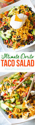 The Ultimate Dorito Taco Salad Recipe