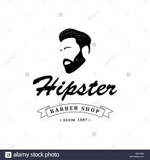 Barber Shop Hair Design Ideas by Logo For Barber Shop Hair Salon With Hipster Head And Barber
