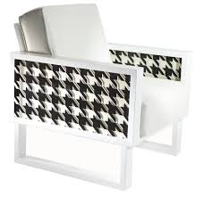Houndstooth Lounge Chair, White/Acrylic - Twist Modern Zuo Modern Waldorf Ding Chair Set Of 2 Houndstooth Disc Powell And Bonnell Tan Wing Chairish White Leather Lounge With Graphic Panels No14 Armchair Pattern By Christian Watson Print Rattan Cane Medallion Louis Maisons Du Patterned Casual 33quot In Brown Mathis Explorer Accent Dfs Ireland Indoor Chairs Unique Cow Hide Zebra Oversized Whiteacrylic Twist Shop Zoe Fabric Arm Free Shipping Today Crawford Houndstooth Apt2b