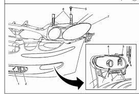 how to change headl in 2006 buick lacrosse