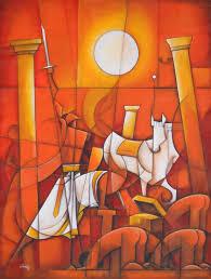 Span Styledisplaynonechennai Artist Painter Contemporary Indian Art