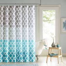 Gray And Teal Bathroom by Amazon Com 90 By Design Lab Des70 006 Dani Printed Shower
