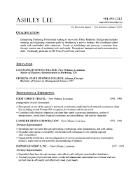 resume summary exles