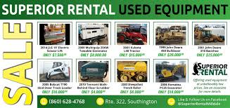 Equipment, Tools & Truck Rental In CT | Superior Rental