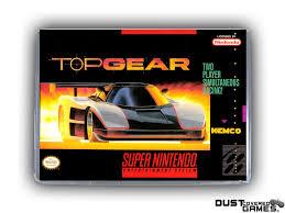 Top Gear SNES Super Nintendo Game Case Box Cover Brand New ...