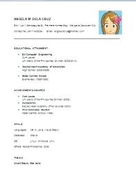 Simple Resume Examples For Teachers Sample Fresh Graduate With Character References Res