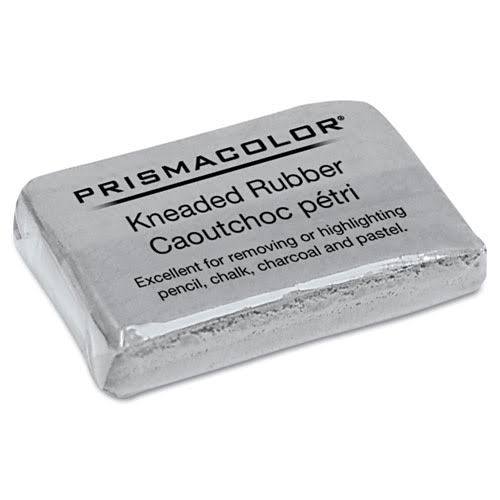 "Prismacolor Kneaded Eraser - Large, 1-3/4"" x 1-1/4"" x 1-1/4"", Gray"