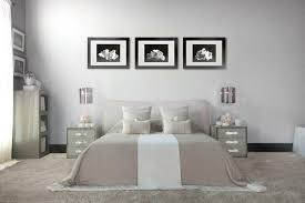 Art Deco Master Bedroom With Graham Brown Vintage Flock Pure White By Kelly Hoppen