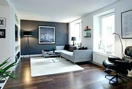 Dark Gray Accent Wall Dining Room Grey Living In