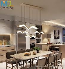 großhandel moderne led pendelleuchten für esszimmer wohnzimmer bar kronleuchter lichter pendelleuchte suspendu pendelleuchte fixtures