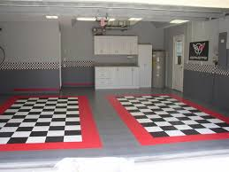 race deck garage floor tiles corvette forum pinteres