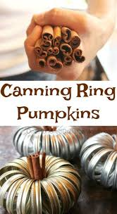 Canby Pumpkin Patch by The 25 Best Canning Ring Pumpkin Ideas On Pinterest Canning Lid