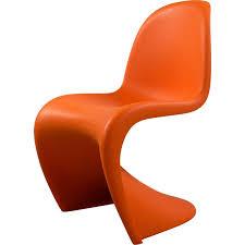 chaise enfant panton orange édition vitra 2000 design market