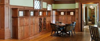 Quartersawn White Oak Living Room