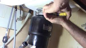 how to replace an insinkerator badger garbage disposal youtube