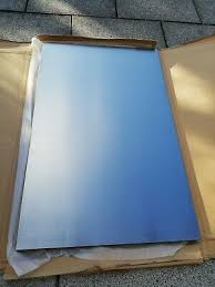ikea küche faktum front 45 x 70 cm rubrik edelstahl 900 857