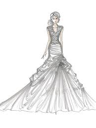 Trendy Inspiration Ideas Fashion Design Coloring Pages Custom Order Wedding Dress