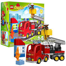 Lego Year 2015 Duplo Town Series Set #10592 - FIRE TRUCK With Moving ... Lego Duplo Fire Station 6168 Toys Thehutcom Truck 10592 Ugniagesi Car Bike Bundle Job Lot Engine Station Toy Duplo Wwwmegastorecommt Lego Red Engine With 2 Siren Buy Fire Duplo And Get Free Shipping On Aliexpresscom Ideas Pinterest Amazoncom Ville 4977 Games From Conrad Electronic Uk Multicolour Cstruction Set Brickset Set Guide Database Disney Pixar Cars Puts Out Lightning Mcqueen