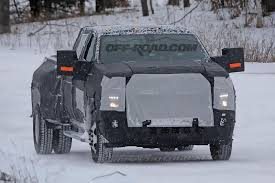 100 New Chevy Truck All HD Pickup Spotted Testing In The Snow OffRoadcom