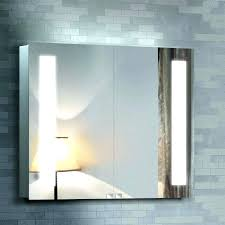 bathroom storage cabinet wall mounted mirror with lights with