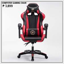 COMPUTER GAMING CHAIR (06) BLACK - RED | Shopee Philippines Office Essentials Respawn400 Racing Style Gaming Chair Big And Cg Ch80 Red Circlect Hero Blackred Noblechairs Arozzi Monza Staples Killabee Recling Redblack 9015 Vernazza Vernazzard Nitro Concepts S300 Ex In Casekingde Costway Executive High Back Akracing Arc Series Casino Kart Opseat Master