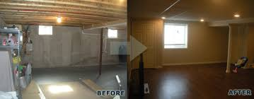 Basement Remodels Before And After Remodeling Ideas Remodel New Home Plans