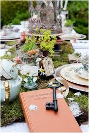 Book Themed Bridal Shower Alice In Wonderland