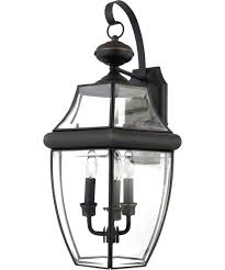 quoizel ny8318 newbury 13 inch wide 3 light outdoor wall light