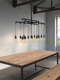 industrial style lighting industrial esszimmer new