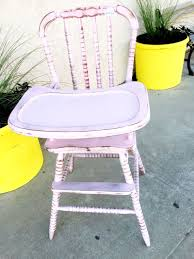 White Jenny Lind High Chair