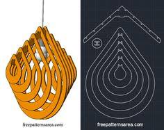 Laser Cut Lamp Dxf by Drop Chandelier Light Free Dxf File For Laser Cutting Cuttings