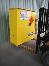 Flammable Liquid Storage Cabinet Grounding by Big Safety Blog
