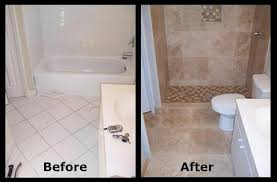 make a small bath look larger bathroom tiles small space