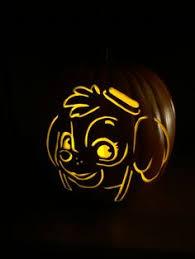 Peppa Pig George Pumpkin Template by Paw Patrol Marshall U0026 Rubble 2 Sided Design 5 5 Inch Pumpkin By