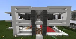 Minecraft Pe Living Room Designs by Modern Minecraft House Ideas