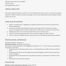 Resume Objective Examples And Writing Tips Example For Teenager First Job Full Size