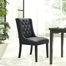Vinyl Dining Chairs Baronet Chair In Black Lifestyle Australia