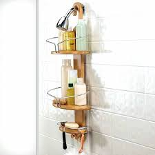 Teak Bath Caddy Canada by Interior Wooden Shower Caddy Faedaworks Com