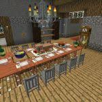 Modern Living Room Minecraft Unique Fascinating Dining Designs Images Simple Design