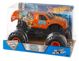 Amazon.com: Hot Wheels Monster Jam Jester Truck: Toys & Games