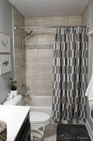 image result for tub door vs shower curtain bath