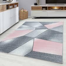 grimes flatweave pink grey rug